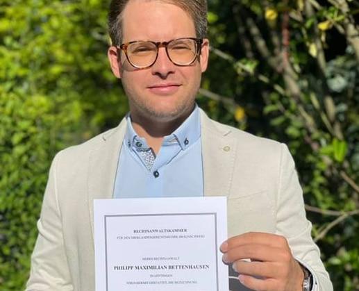 Phlipp M. Bettenhausen, Rechtsanwalt und Fachanwalt für Verkehrsrecht in Göttingen